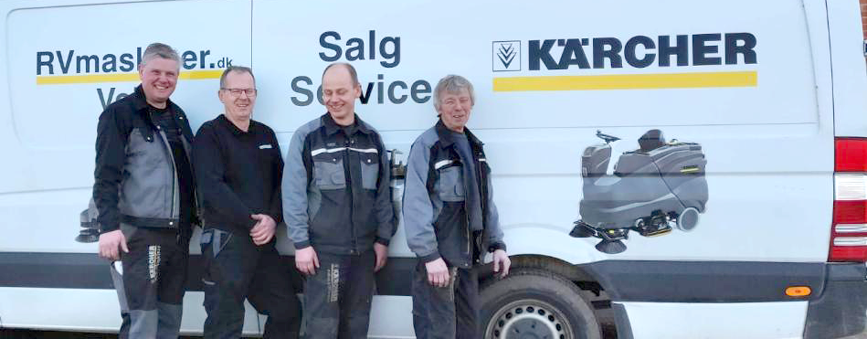 Serviceteam RV Maskiner